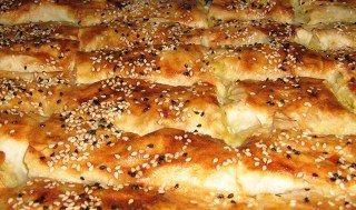 Dil peynirli börek yapılışı