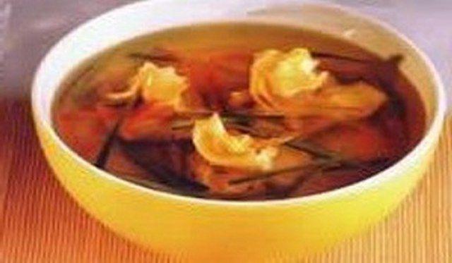 Egzotik tavuk çorbası