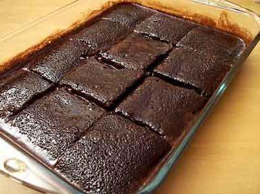 Islak kek yapılışı