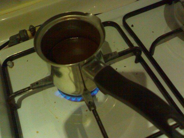 Türk kahvesi yapılışı