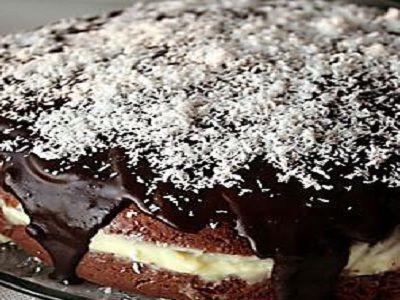Çikolata Soslu Pasta