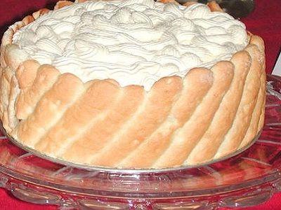 Bisküvili ve Kedidilli pasta