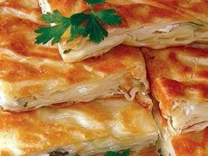 Kaşar Peynirli Börek
