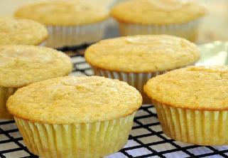 Portakallı muffin kek yapılışı
