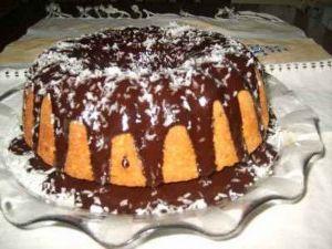 çikolata soslu limonlu kek
