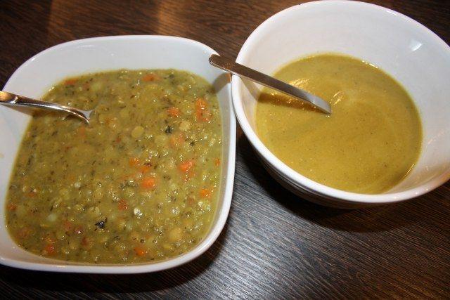 Bezelye çorbası yapımı