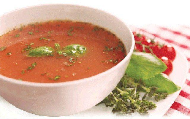 Domates çorbası resmi
