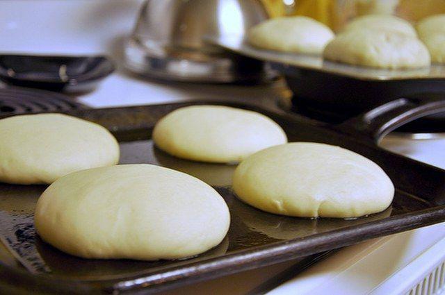 Hamburger ekmeği yapılışı