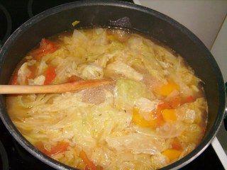 Lahana çorbası resimli tarif