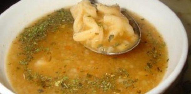 Mantılı mercimek çorbası