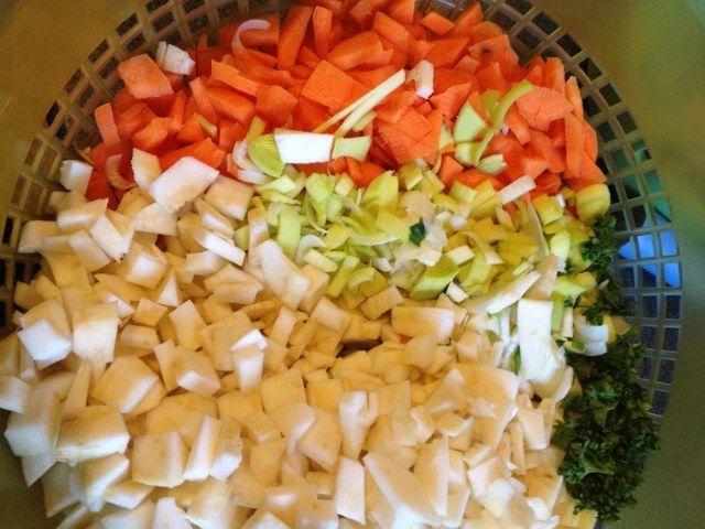 Sebze çorbası resimli tarif