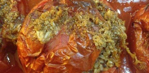 domates dolması tarifi