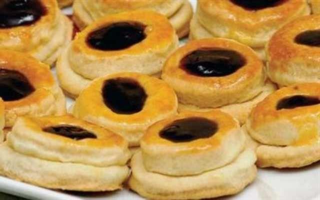 marmelatli kurabiye resimli
