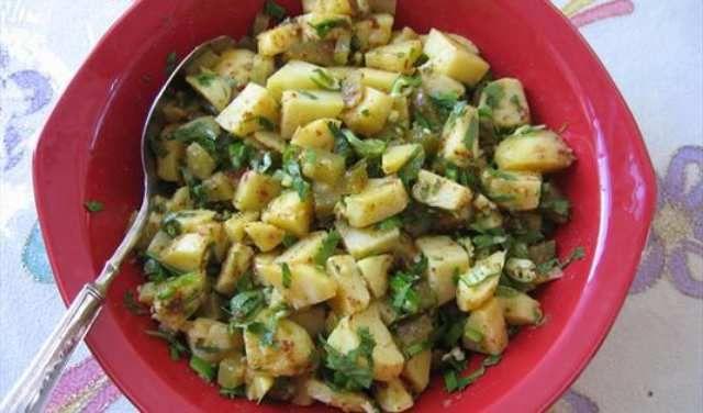 patates salatası resimli tarif