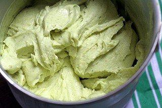 Fıstıklı dondurma yapımı