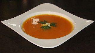 Havuç çorbası resimli
