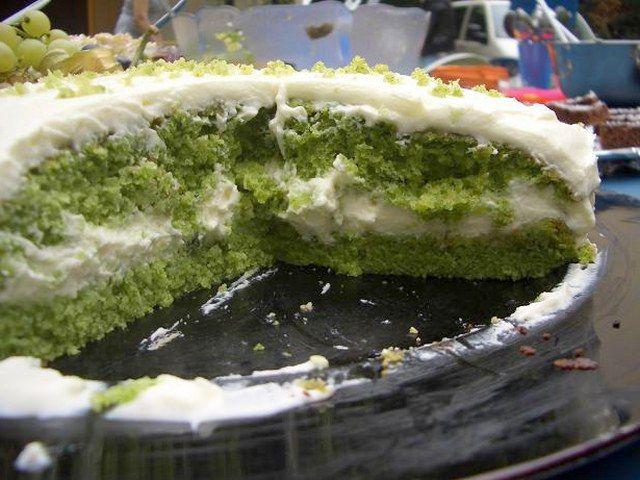 Ispanaklı pasta