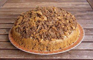 Köstebek pasta yapımı