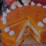 Balkabaklı yaş pasta