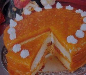 Kabaklı yaş pasta