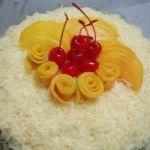 Kokoş pasta