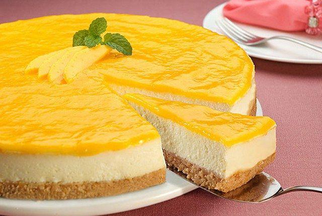 Limonlu cheese kek