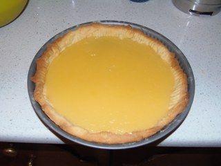 Limonlu tart yapımı