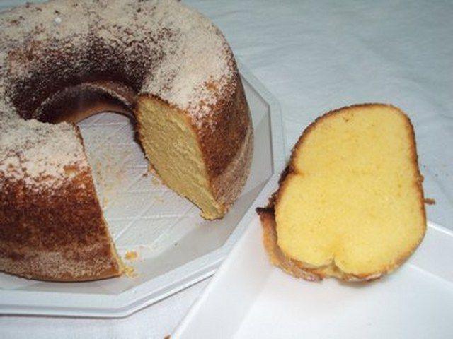 Mısır unlu kek yapımı