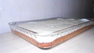 Muhallebili incirli kek yapımı