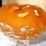Portakal sulu irmik helvası