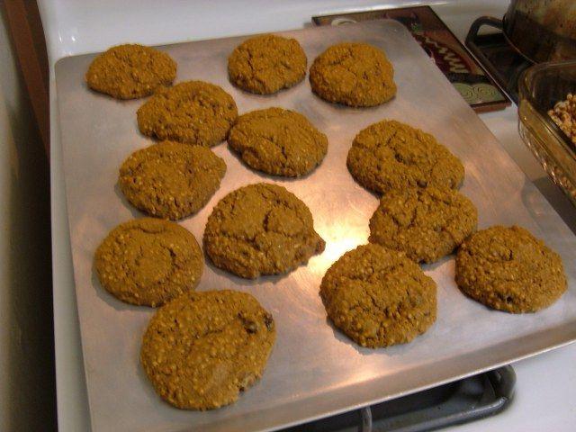 Kuru üzümlü kurabiye yapımı