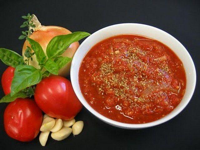Napoliten sos yapımı