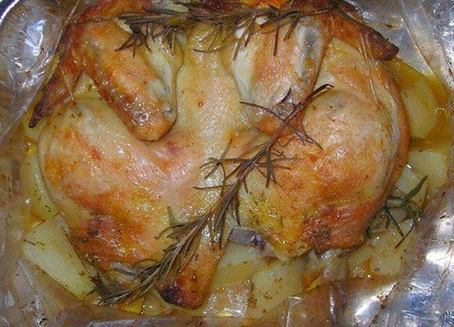 Poşette tavuk