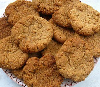 Tahinli pekmezli kurabiye