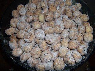 Tarçınlı misket kurabiye