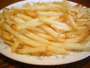 Unlu patates kızartma