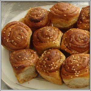 Haşhaşlı çörek yapımı