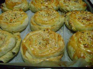 Ispanaklı gül böreği yapımı
