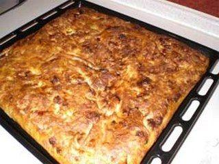 Kıymalı börek yapımı