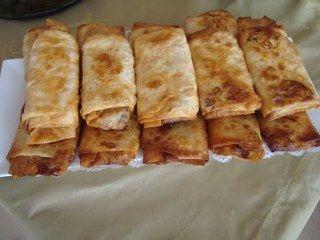 Paçanga böreği yapımı