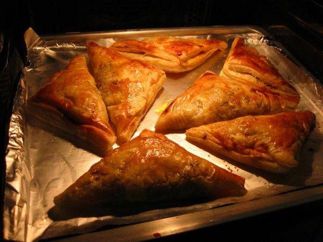 Talaş böreği yapımı