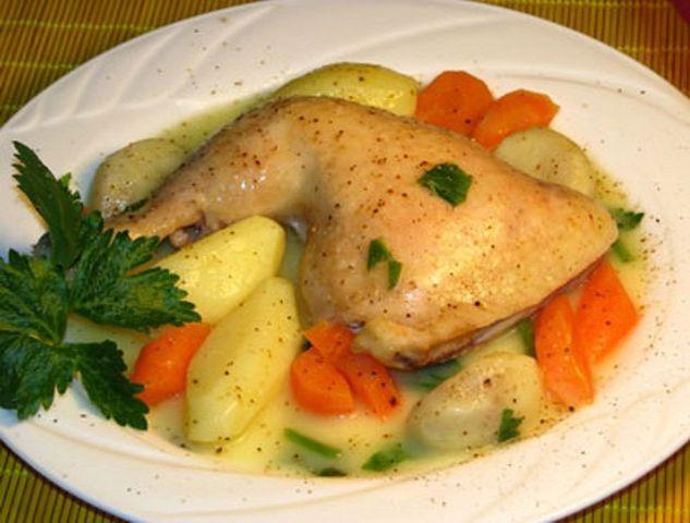 Tavuk haşlama