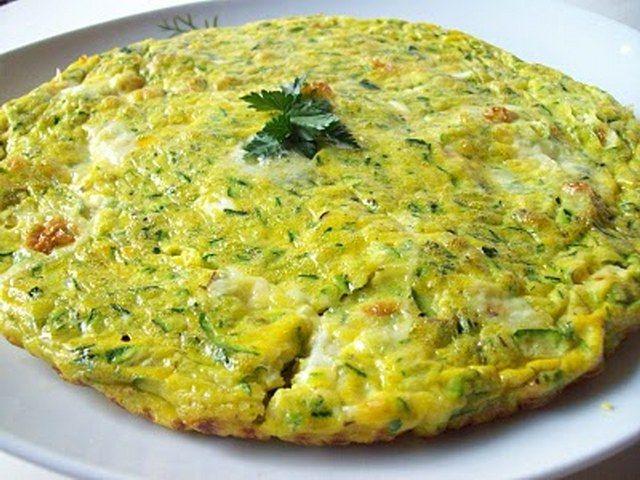 kabaklı omlet ile ilgili görsel sonucu