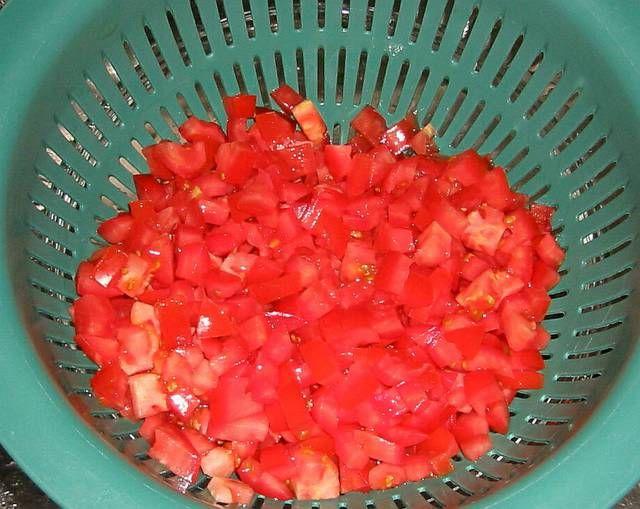 Dondurucuya domates koymak