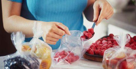 Dondurucuya meyve hazırlığı