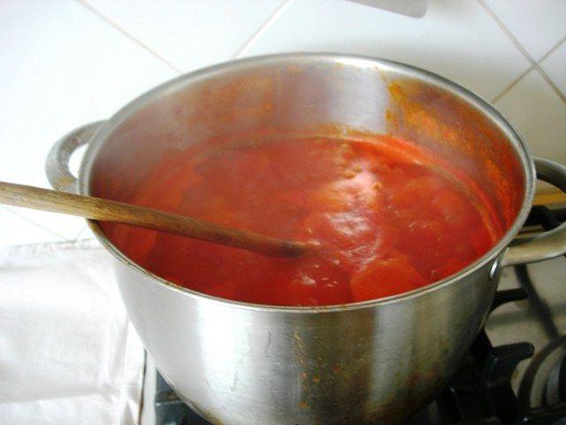 Kışlık domates sos yapılışı