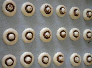 Mantar kurabiye yapılışı