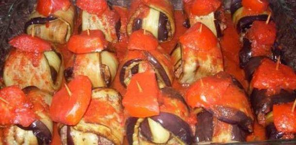 Patlıcanlı bohça kebabı