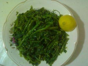 Turp otu salata