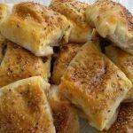 Peynirli bohça böreği